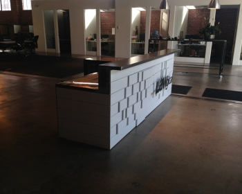 Lawgical Reception Desk, Denver, 2015
