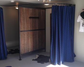 Whorl Fitting Rooms, Denver, 2014