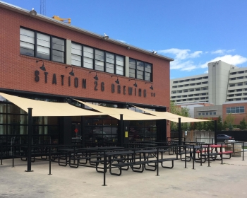 Patio Metalwork, Station 26 Brewing Co. Denver CO, 2017