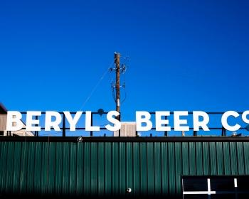 Rooftop Sign, Beryl's Beer Co. Denver CO, 2015