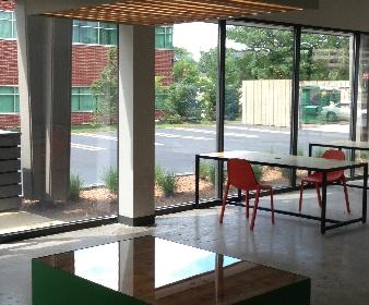 Arbor Lofts Communal Office, Southfield MI, 2013