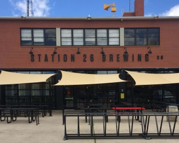 Patio Metalwork & Bikeracks, Station 26 Brewing Co. Denver CO, 2017