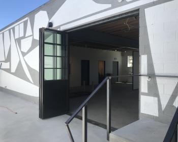 Custom Bi-folding Door, Space Annex Gallery, Denver, 2018