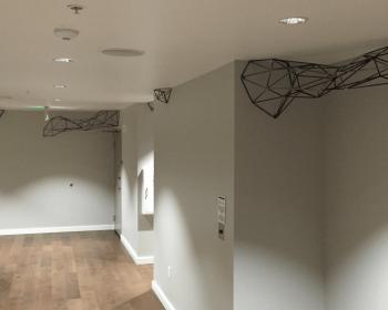Halcyon Hotel Installation, Steel, N/A, Denver CO, 2016