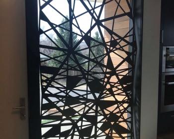 """Facet Panel Number One, Steel, 102""""x57""""x8"""", Boulder CO, 2018"""