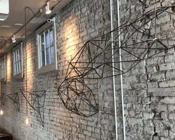 Gozo Restaurant Installation, Steel, N/A, Denver CO, 2016