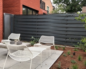 Woven Fence and Garden Gates, Denver CO, 2018 (Designed by Christian Buttler and Rebecca Peebles)