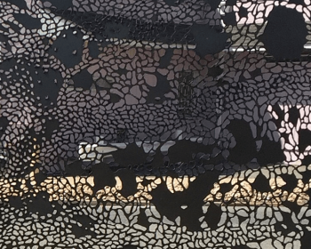 Infinite Pattern Panel Number Two, Steel, 5'x10', Denver CO, 2016