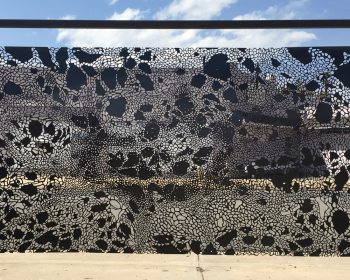 Infinite Pattern Panel Number Two, Steel, 5'x10', Denver CO, 2016