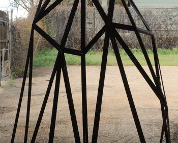 Untitled, Steel, 7'x9'x3', Denver CO, 2016