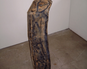 "Untitled, Steel, 48""x12""x12"", Private Collection, Wilmington VT, 2013"