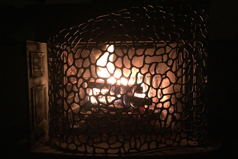 Infinite Pattern Fire Screen